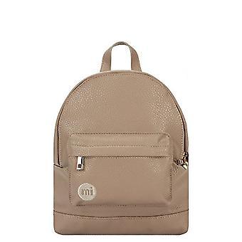 Mi-Pac Mi-Gold Super Mini Backpack Tumbled Casual Backpack, 23 cm, Brown (Mushroom)