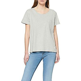 Lee Sustainable Tee T-Shirt, Grey (Grey Mele MP), L Woman