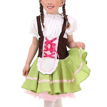 Oktoberfest maid flicka halloween kostym pl-739
