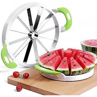 Melon slicer multifunctional handheld round divider watermelon cutter x1443