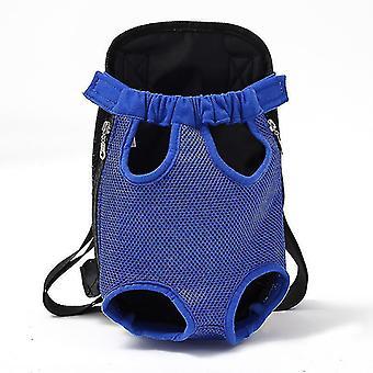 الأزرق L شبكة الناقل الحيوانات الأليفة تنفس الكتف التمويه التعامل مع أكياس cai226