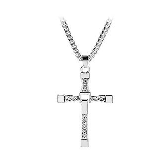 Rápido y Furioso 6 7 Dominic Toretto Gothic Hollow Cross Collar