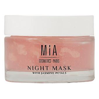 Fuktgivande nattmask Mia Kosmetika Paris Jasmine (50 ml)