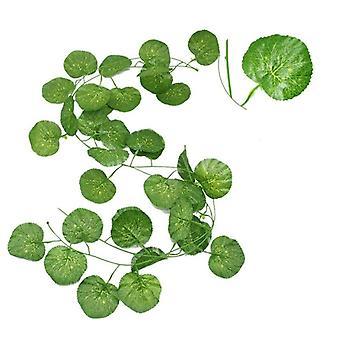 230cm lebendige künstliche Pflanzen Creeper Traube grünes Blatt für Wand-Dekor