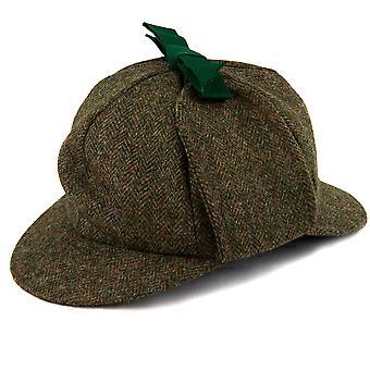 Sherlock Holmes Villa Tweed Deerstalker Hattu