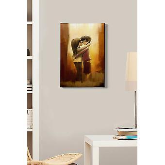 Kanvas Tablo (50 x 70) - 140 dekorativa dukmålningar i flera färger