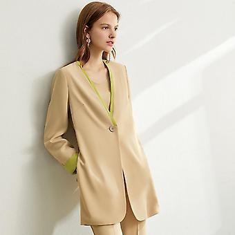 Dámske vesty bez rukávov, nohavice s vysokým pásom a šifónová súprava kabátov