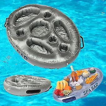 Pool spa maintenance kits inflatable spa bar hot tub pool floating drinks and food holder tray