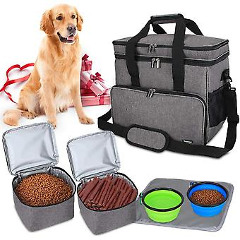 Pets Bag Travel Bag For Dog Equipment, Dog Travel Bag To Transport Animal Food, Toys And Other Requirements
