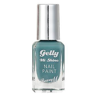 Barry M # Barry M Gelly Hi Shine Esmalte de uñas - Hierbabuena #DISCON