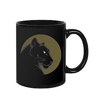 Puma In Profile Mug -SPIdeals Designs