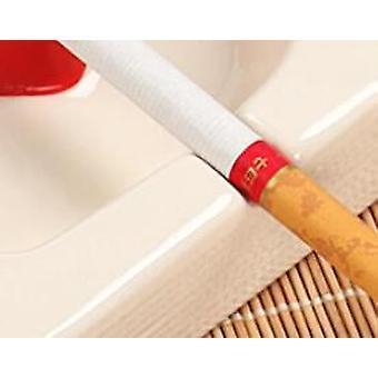 Porcelana cuadrada Cenicero portátil Cigarro Cigarrillo Ash Tray Creative Home Gadgets