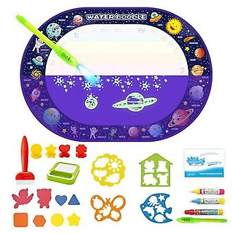 Coolplay Magic Water Drawing Mat Coloring Montessori Toys Painting Board For Kids