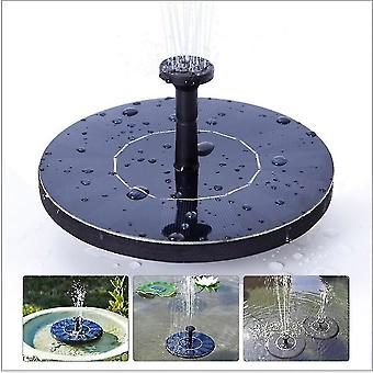 Pool  fountain pond pumps homemiyn solar fountain  floating solar powered water fountain pump for bird bath  garden  pond