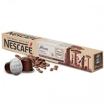 Coffee Capsules Farmers Origins Nescafé Africas (10 Uds) 16729 16729 16729