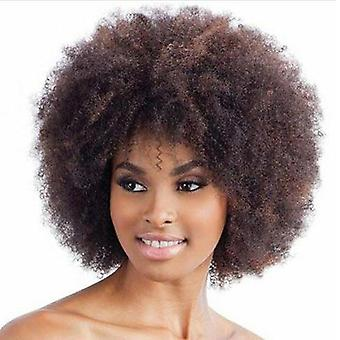 Women Short Curly Wig For Lady