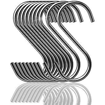 15pcs multifunksjonell S-formet hengende krok 304 rustfritt stål for kontor kjøkken