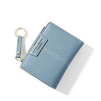 Frauen Geldbörse Kleine süße Brieftasche Frauen Kurze Pu Leder Frauen Geldbörsen Reißverschluss Geldbörsen Portefeuille Weibliche Geldbörse Clutch