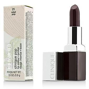 Color de labios Pop de Clinique Clinique + cartilla - Pop # 21 rebeldes - 3.9g/0.13oz