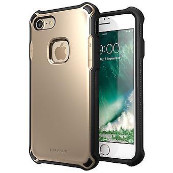 i-Blason-iPhone 7 caso-Venom-caso difícil Outter Shell-ouro