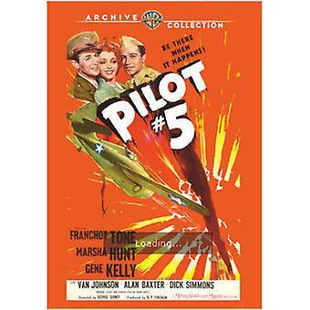 Pilot nr. 5 (1943) [DVD] USA importere