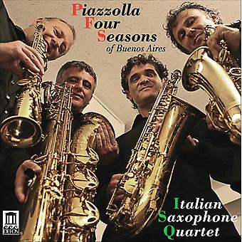Piazzolla/Gershwin/Troilo/Iturralde - Piazzolla Four Seasons [CD] USA import