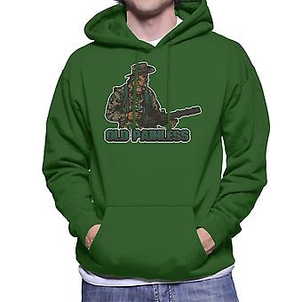 Predator oude pijnloos mannen Hooded Sweatshirt