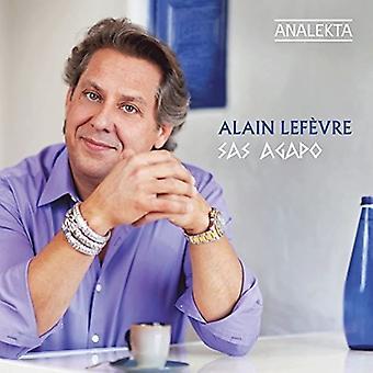 Alain Lefevre - Sas Agapo [CD] USA import