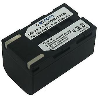 Dot.Foto Samsung SB-LSM160 wymiana baterii - 7.4V / 1600mAh