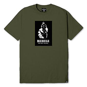 Rebel8 Larceny T-shirt Olive