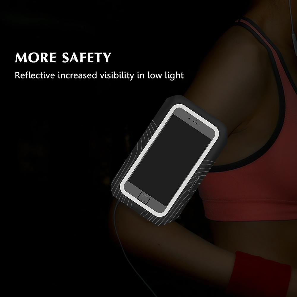 Tritina Running Armband for Smartphone include Fingerprint Touch for Iphone + Fitness instant Cool Towel