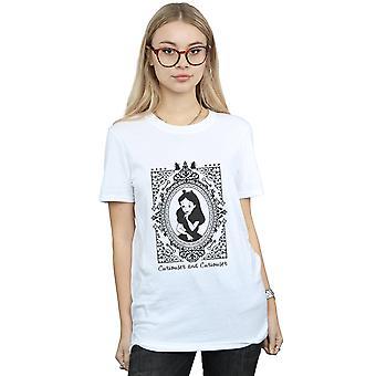 Disney Women's Alice In Wonderland Frame Boyfriend Fit T-Shirt