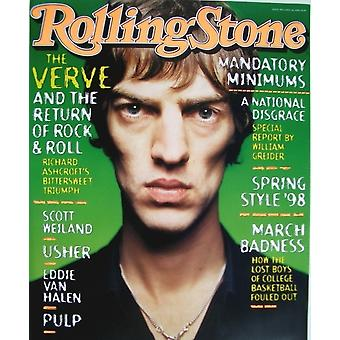 The Verve Rolling Stone Cover Poster