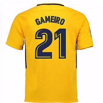 2017 / 18 Atletico Madrid væk Shirt (Gameiro 21) - børn
