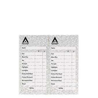 Agenda Grey Check Pads (Pack Of 12)
