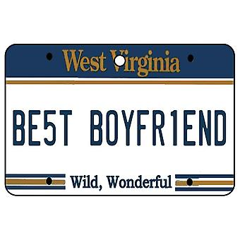 West Virginia - mejor novio placa ambientador