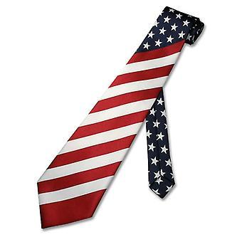 Bandiera American A collo maschile Cravatta USA Patriotic NeckTie