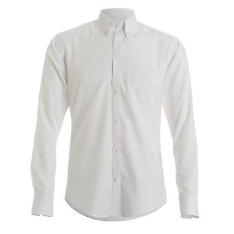 Kustom Kit Mens chemise Twill Oxford à manches longues