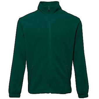 2786 Mens Full Zip Shaped Fleece Jacket