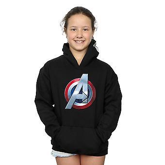Marvel, Avengers Girls 3D Logo Hoodie