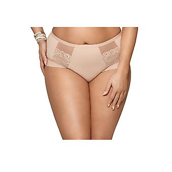 Gorsenia K442 Women's Luisse Skin Solid Colour Knickers Panty Full Brief