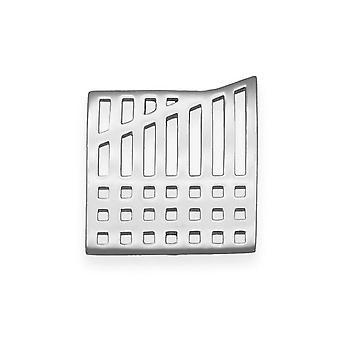 Sterling Silver tradičné škótsky dizajn Charles Rennie Mackintosh Lattice linky Design brošňa