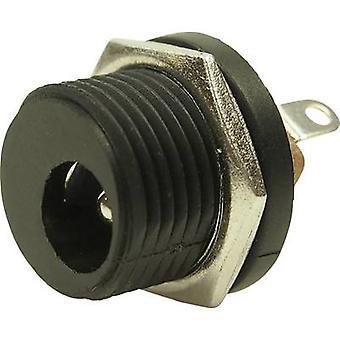 צוק FC681474 מחבר כוח נמוך שקע, אנכי אנכית 5.8 mm 2.5 mm 1 pc (עם)
