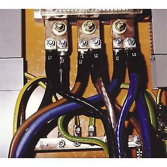 CellPack SR2/LK/PEN/25-70 Varmekrympningsrør sæt til faseidentifikation uden klæbemiddel 3:1 Sort indhold: 1 Sæt