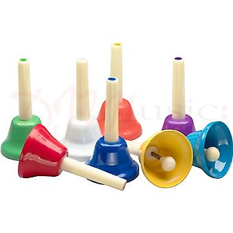 Stagg Colour-Coded Handbells Set