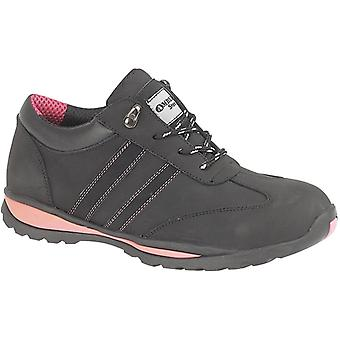 Amblers Steel FS47 Ladies Safety Work Trainers Black
