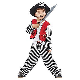 Ben der kleine Pirat Kinder Kostüm Junge Seeräuber Freibeuter