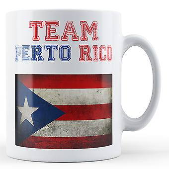Team Puerto Rico - Printed Mug