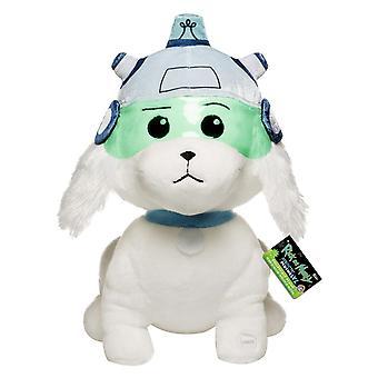 Rick and Morty XL Plüschfigur Snowball mit Sound weiß, aus 100% Polyester, von Funko.
