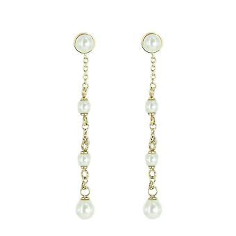 Skagen women's earrings gold JESG035